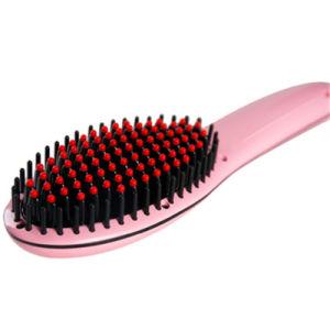 Beauty Hair Straightening Hair Brush Automatic Hair Straightener Brush pictures & photos