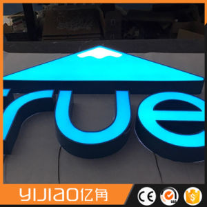 Face Lighted Stainless Steel Retun Frontlit LED Channel Letter Sign pictures & photos