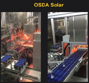 60W Black Mono-Crystalline Solar Panel with TUV/Ce/IEC/Mcs Certificate pictures & photos