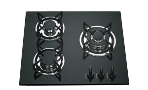 Professional Factory Tempered Glass Built in Gas Hob Gas Cooker Jzs53201 pictures & photos