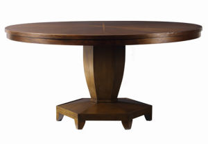(CL-3323) Antique Hotel Restaurant Dining Furniture Round Wooden Dining Table pictures & photos
