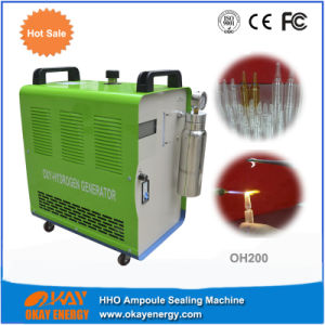 Portable Brown Gas Manual Glass Ampoule Sealing Machine pictures & photos