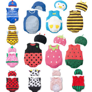 Newborn Baby Kids Cartoon Animal Romper Jumpsuit Outfits Costume pictures & photos