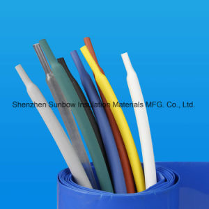 Zero Halogen Polyolefin Heat Shrink Tube for Wire Harness pictures & photos