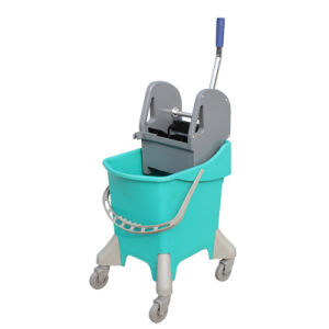 Maid Cart Hotel Housekeeping Cleaning Trolley with Trash Bag pictures & photos