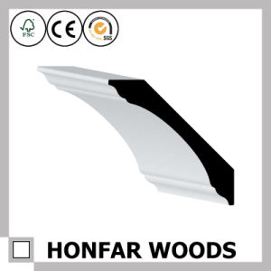 Ceiling Interior Decorative Material MDF Primed Crown Moulding pictures & photos