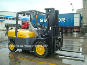 Factory Supply Best Price 4.5ton Diesel Forklift Truck with High Quality pictures & photos