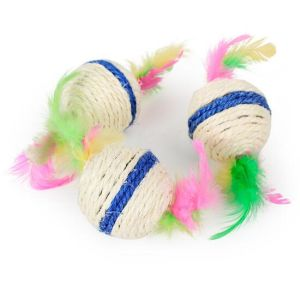 Pet Product Sisal Small Ball Cat Toy (KB3017) pictures & photos