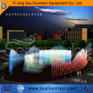 Seafountain Design Stainless Net Dry Floor Fountain pictures & photos