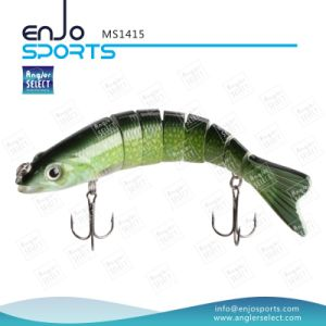 Multi Jointed Fishing Life-Like Lure Bass Bait Swimbait Shallow Hard Lure Fishing Gear (MS1415) pictures & photos