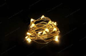 LED Multicolor Copper Wire 3AA Battery Light pictures & photos