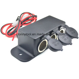 Car Triple Socket Cigarette Lighter Plug pictures & photos