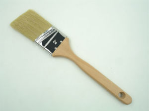 Angular Paint Brush Pure White Bristle pictures & photos