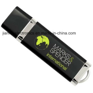 Black 8GB 16GB 32GB USB Flash Stick with Logo Printed (103) pictures & photos