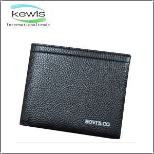 Men Business Envelope Genuine Leather PU Wallet pictures & photos