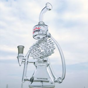 12 Inch Recycler Styles Glass Smoking Water Pipe pictures & photos