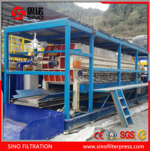 Auto Plate Frame Filter Press with Belt Conveyor pictures & photos