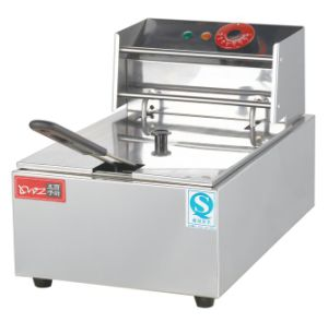 6L Commercial Electric Deep Fryer with Ce pictures & photos