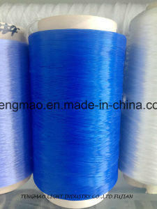 450d Blue Polypropylene Yarn for Webbings pictures & photos