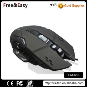 New Technology Wired 6D Optical 6 Buttons Gaming Mouse OEM pictures & photos