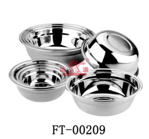 Stainless Steel Soup Basin (FT-00209)