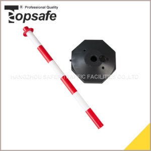 90cm Red/White Traffic Warning Post pictures & photos