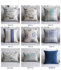 Cotton Linen Printed Outdoor Pillows Cushions for Decoration pictures & photos
