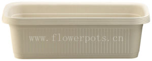 Plastic Window Box Flowerpot (KD6035) pictures & photos