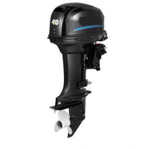High Power 2 Stroke 40HP Gasoline Outboard Motor pictures & photos