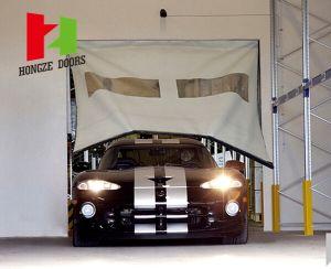 PVC Fabric Self Repairing High Speed Roll up Door Fast Rapid Roller Shutter Door (Hz-FC4523) pictures & photos