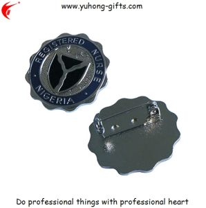 High Quality 3D Custom Made Metal Bullion Badges (YH-MP027) pictures & photos