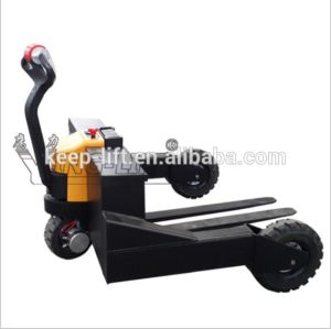 Full Electric All Terrain Pallet Truck pictures & photos