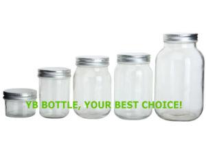Mason Jar, Clear Glass Pickled /Honey /Jam Jar