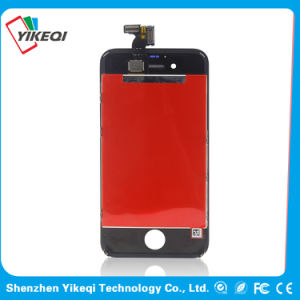 After Market Black/White Mobile Phone LCD for iPhone 4 CDMA pictures & photos