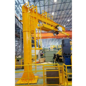 500kg Mini Electric Rotation Jib Crane with Electric Chain Hoist pictures & photos