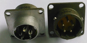 Xk18 Series Bayonet Connecting Circular Electric Connector pictures & photos
