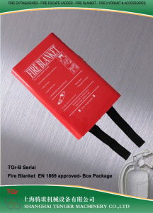 Fire Blanket Red PVC Box Package pictures & photos