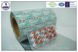 Aluminium Foil for Packaging Capsules pictures & photos