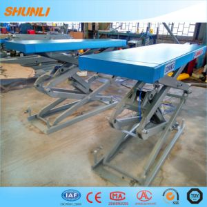 Both Side Extension Small Platform Scissor Car Lift in Car Lift pictures & photos