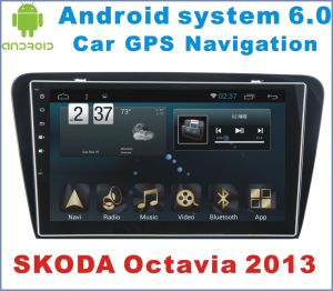 Android System 6.0 Car GPS Navigation for Skoda Octavia 2013 with Car DVD pictures & photos