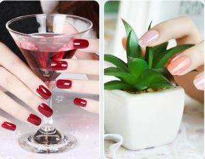 Eco-Friendly Improted Base Material Long Lasting UV/LED Gel Soak off Nail Polish pictures & photos