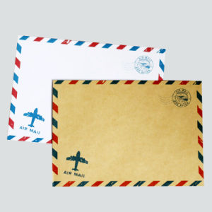 Offset Printing Customized Kraft Paper Letter Envelope pictures & photos