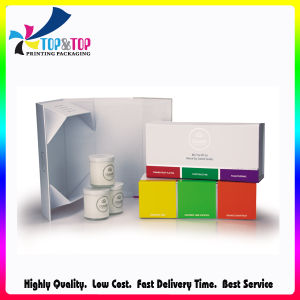 Hot Stamping Folding Cardboard Paper Candle Set Box pictures & photos