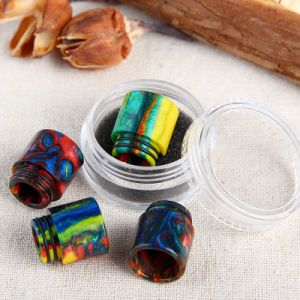 2017 Vivismoke Hot Selling Colorful Resin Drip Tip for Tfv8 Tfv12 pictures & photos