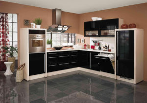 Hot Sale UV MDF High Glossy Kitchen Cabinet pictures & photos