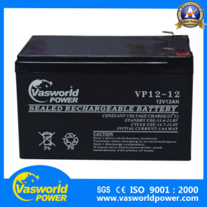 Vasworld Power Deep Cycle Gel Battery AGM 12V12ah pictures & photos