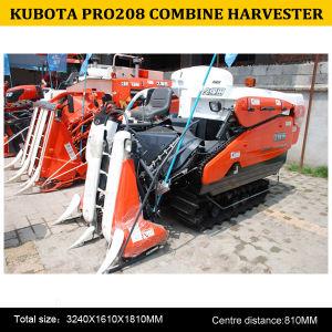Kubota Semi-Feeding PRO208 Combine Harvester, China Rice Harvesting Combine PRO208, New Kubota Rice Harvester pictures & photos