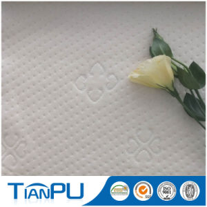 Stain Repellent Polyester Jacquard Knitted Mattress Ticking Fabric pictures & photos