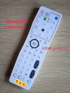 Clean Healthcare Waterproof TV Remote Control Learning for STB Hom Hotel Hospital pictures & photos