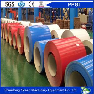 CGCC Grade Prepainted Galvanized Steel Coils / PPGI Coils / Color Coated Steel Coils pictures & photos